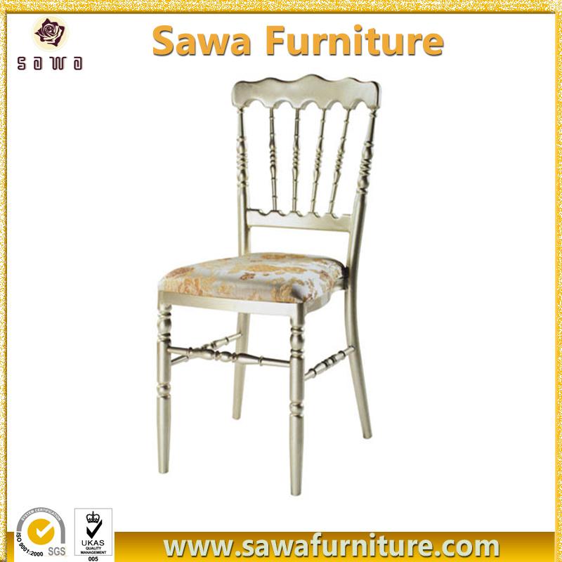 Stackable Wedding Aluminum Napoleon Chair Wholesale