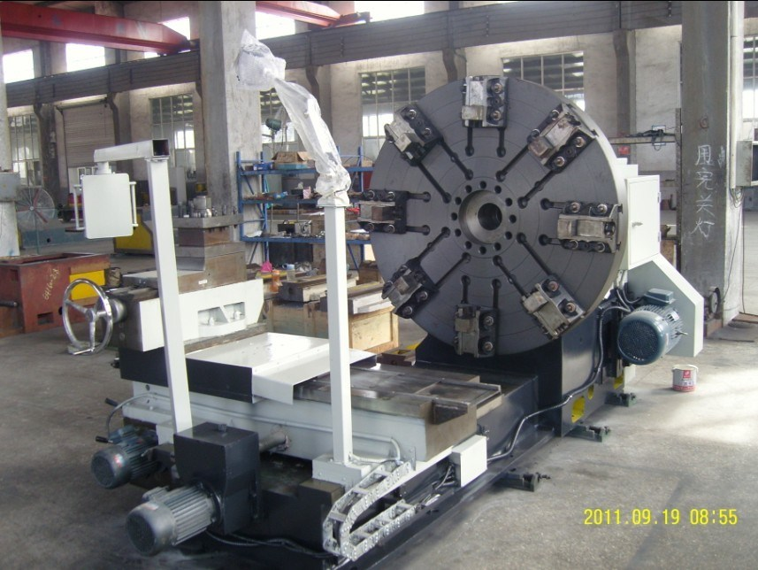 Lathe Machine for Large Flange and Pipes (C64 series)