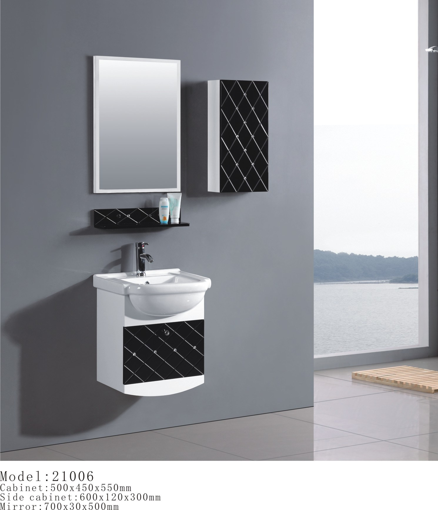 China Hot PVC Bathroom Cabinet Bathroom Furniture China Bathroom Ca