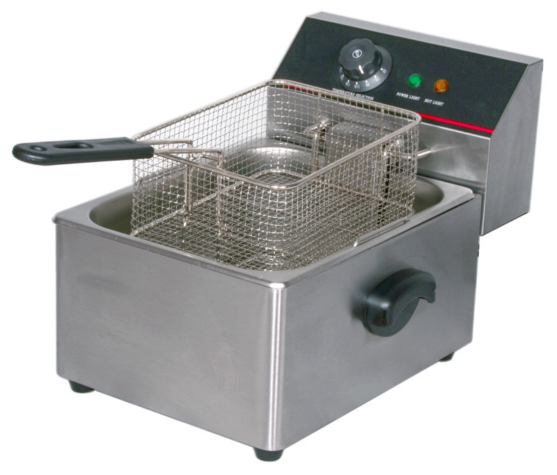 Electric Deep Fryer ~ China ce approved electric single tank deep fryer et zl
