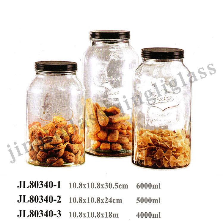 Big Size Mason Jar / Storage Mason Jar