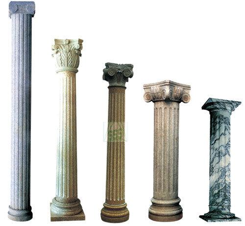 China carve stone pillar stone column china stone pillar for House columns prices