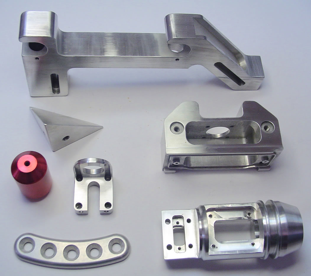 Aluminum Alloy CNC Machining Center Spare Parts