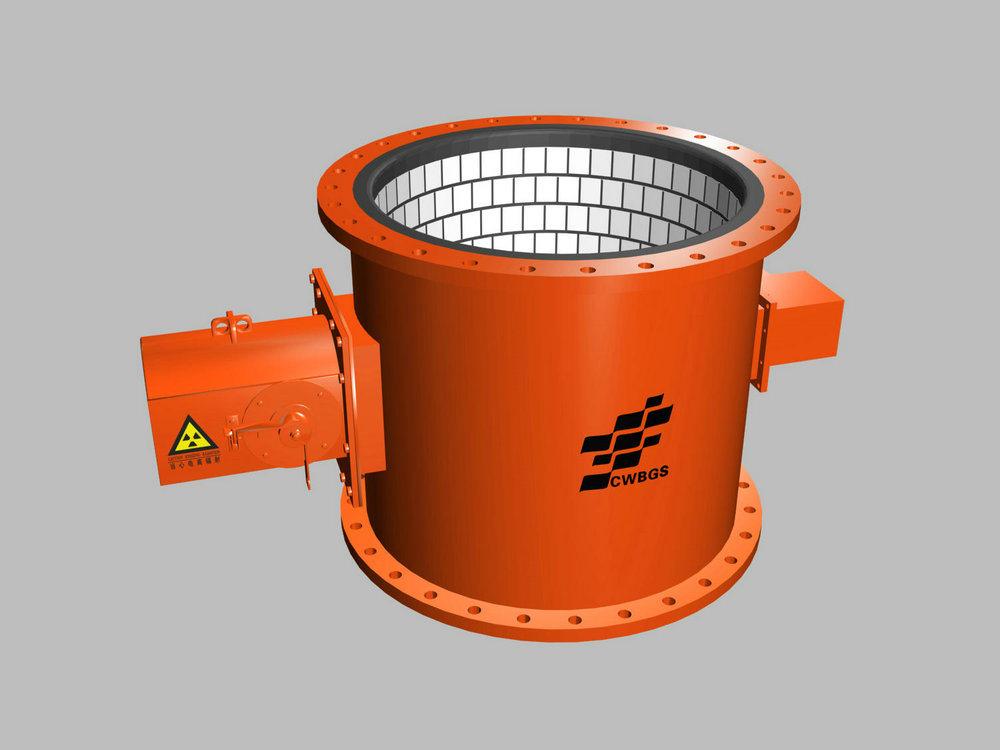 Nuclear Density Meter : China density meter sensor for dredging