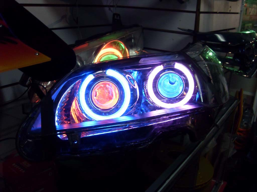 2pcs LM Angel Eyes Light Car LED Bulbs Halo Ring Marker 5W K White for BMW X5 E39 E53 E60 E63 E