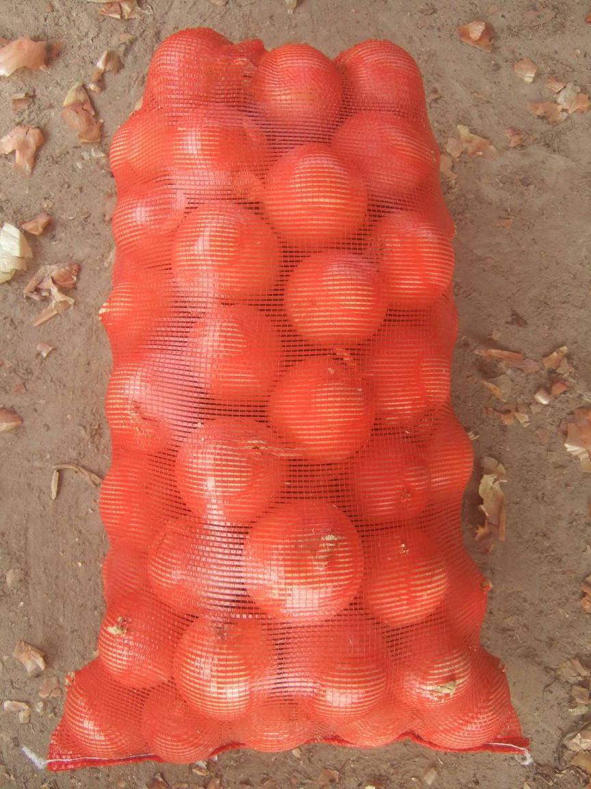 Plastic Vegetable Mesh Bag in 38g to 48g