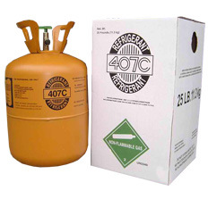 Refrigerant r407c properties