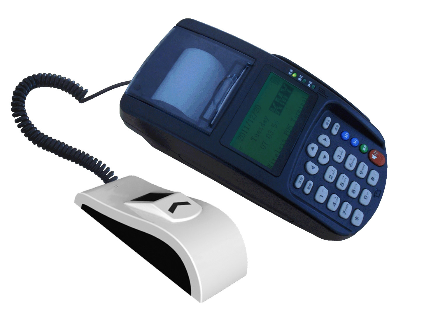 GSM/GPRS POS With Fingerprint Reader