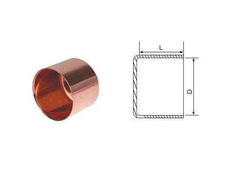 Copper End Cap for AC/Plumbing