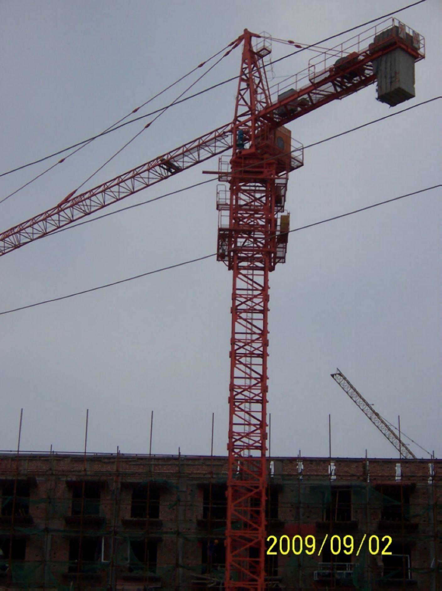 Tower Crane Productivity : Tower crane qtz i china lift machine