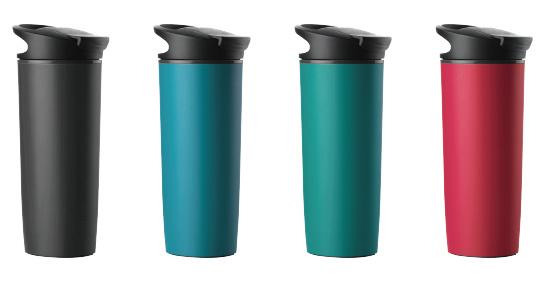 2016 New Design Travel Thermo Drinking Non-Spill Mighty Mug Suction Mug