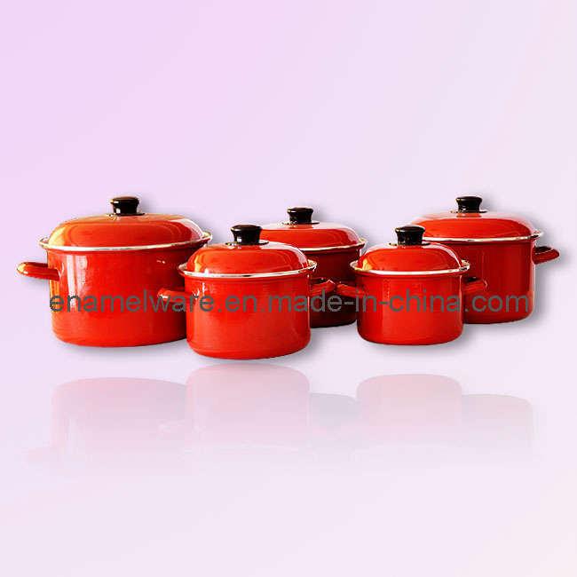 Enamel Cookware Set 753DE-5