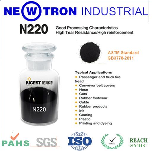 Sale Rubber Material Tire N220 Carbon Black