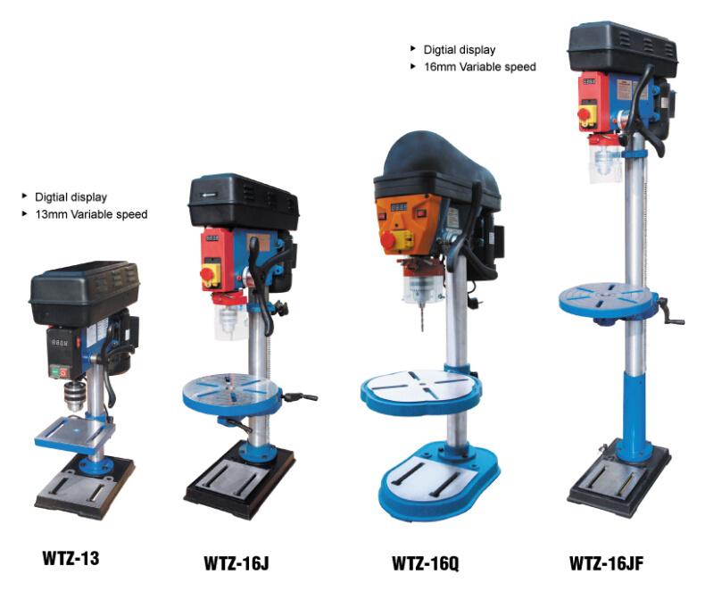 Bench Type Drill Press (Drill press WTZ-13 WTZ-16J WTZ-16JF WTZ-16Q)