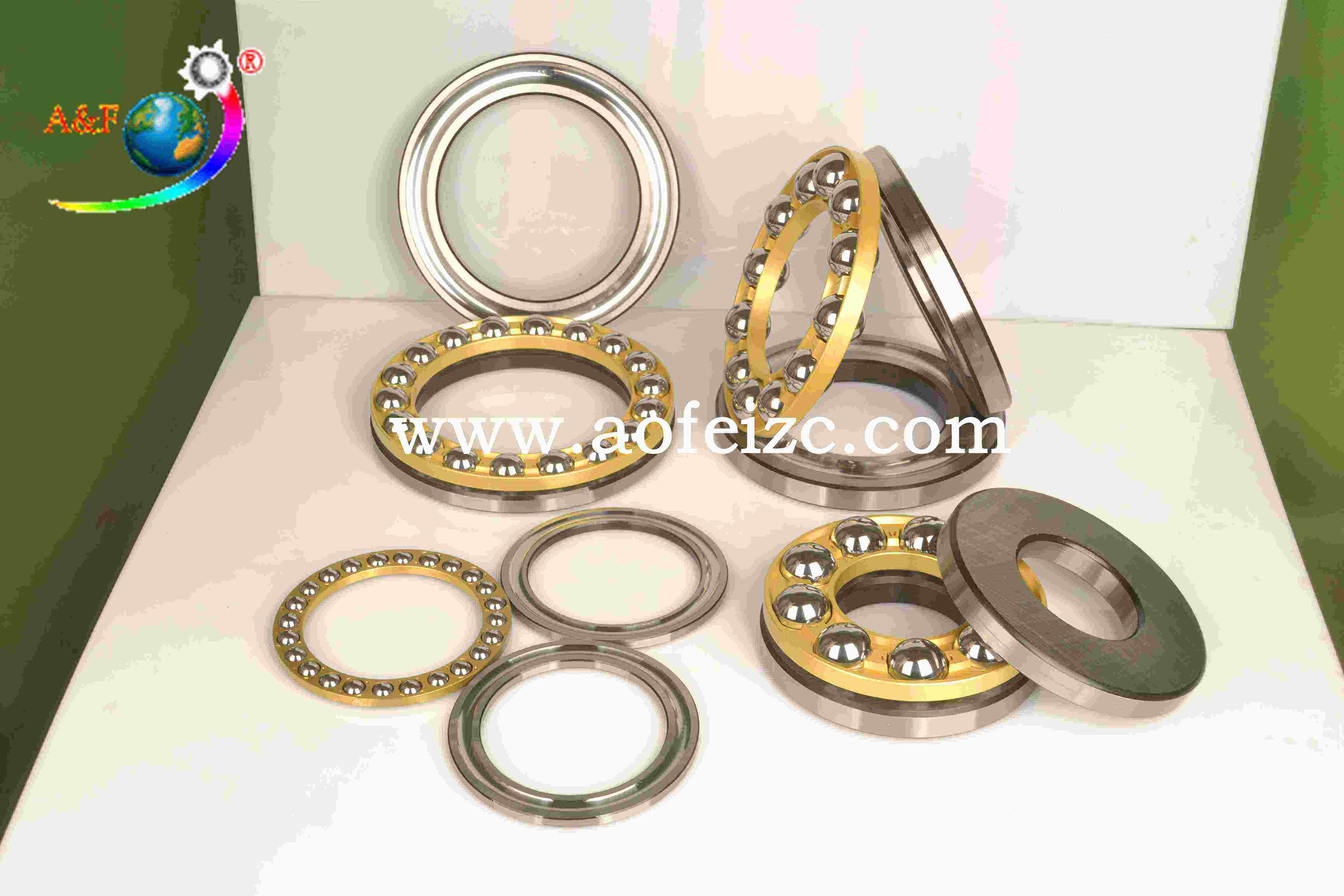 A&F factory Thrust Ball Bearing 51308 for Engineering Machinery