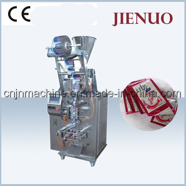 Jienuo Vertical Small Sacuce Paste Pouch Liquid Packing Machine