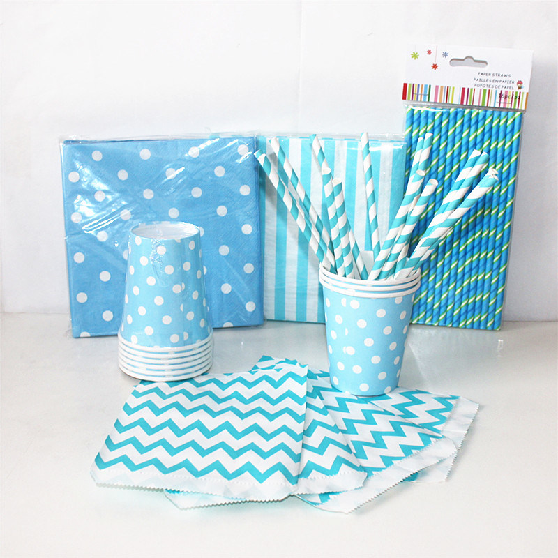 Blue Color Paper Party Favor with Different Designs for Party