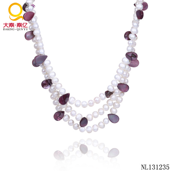 Latest Design Beads Necklace Freshwater Pearl Jewellery