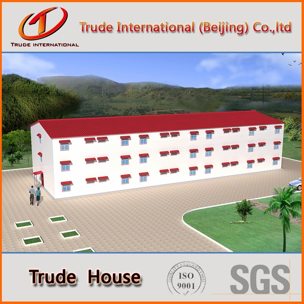 Customized Light Gauge Steel Structure Modular Building/Mobile/Prefab/Prefabricated Building
