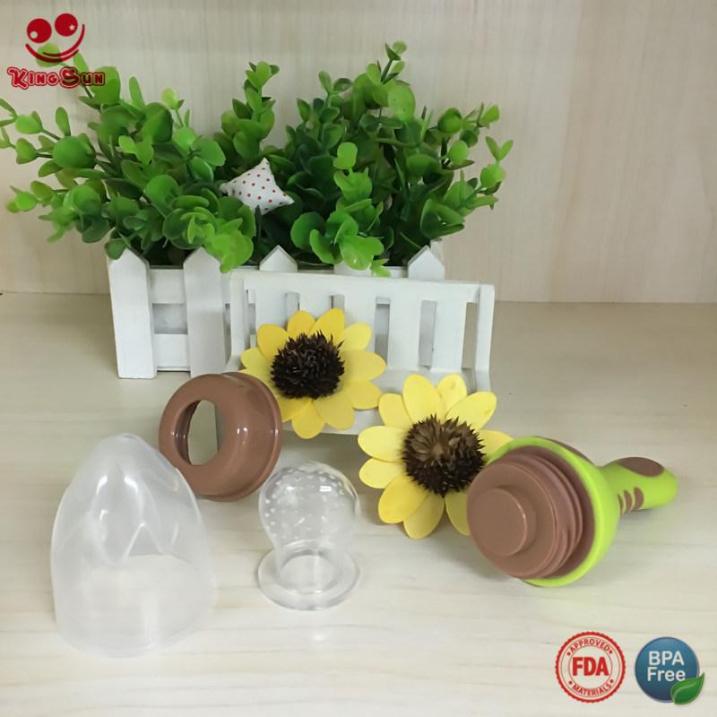 2017 New Design Baby Food Feeder Teether for Fresh Fruit