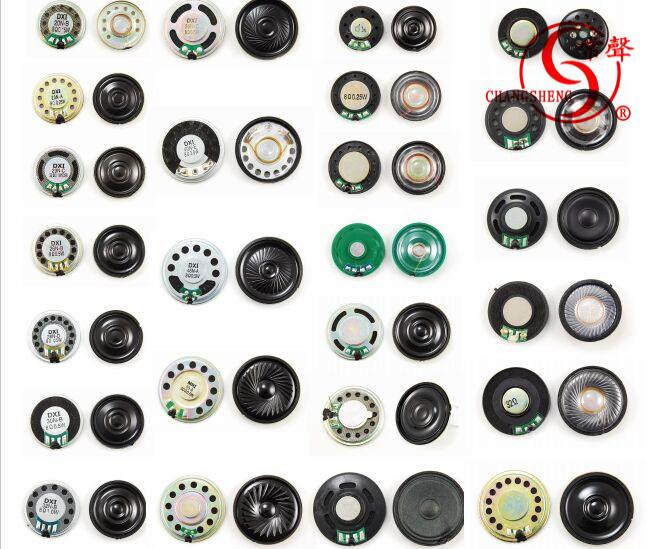 45mm Waterproof Spekaer 8ohm 0.5W Micro Mylar Speaker Dxi45n-a
