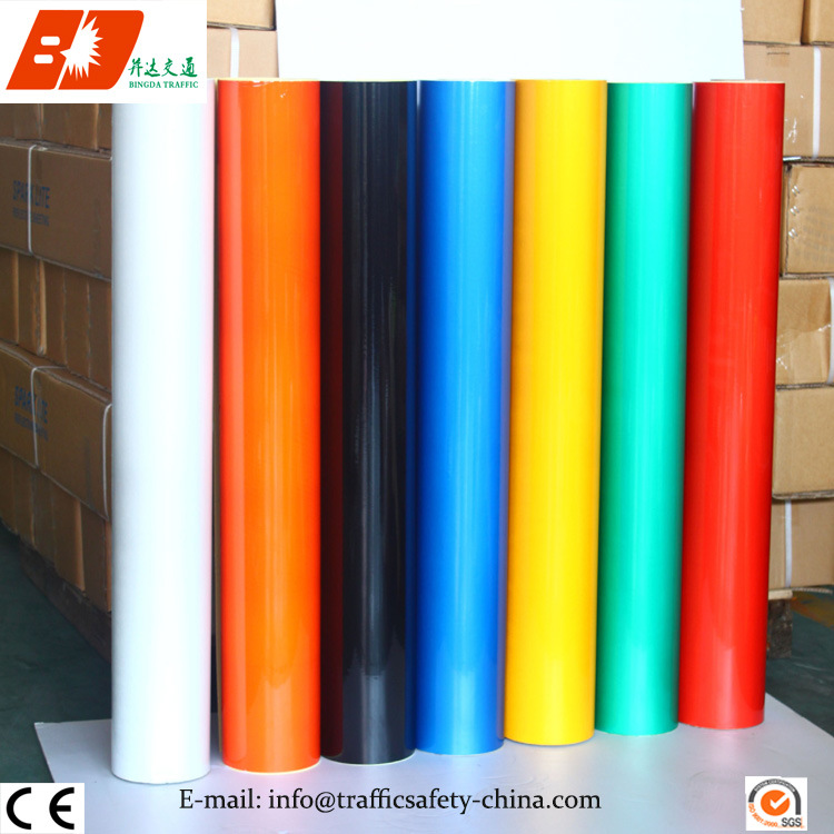 Unprintable, Untearable and 3 Years Pet and Acrylic Advertising Grade Reflective Sheeting 3100