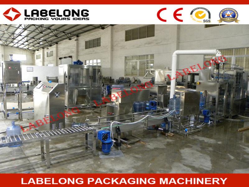 600bph 5 Gallon Barreled Bottle Water Filling Machine