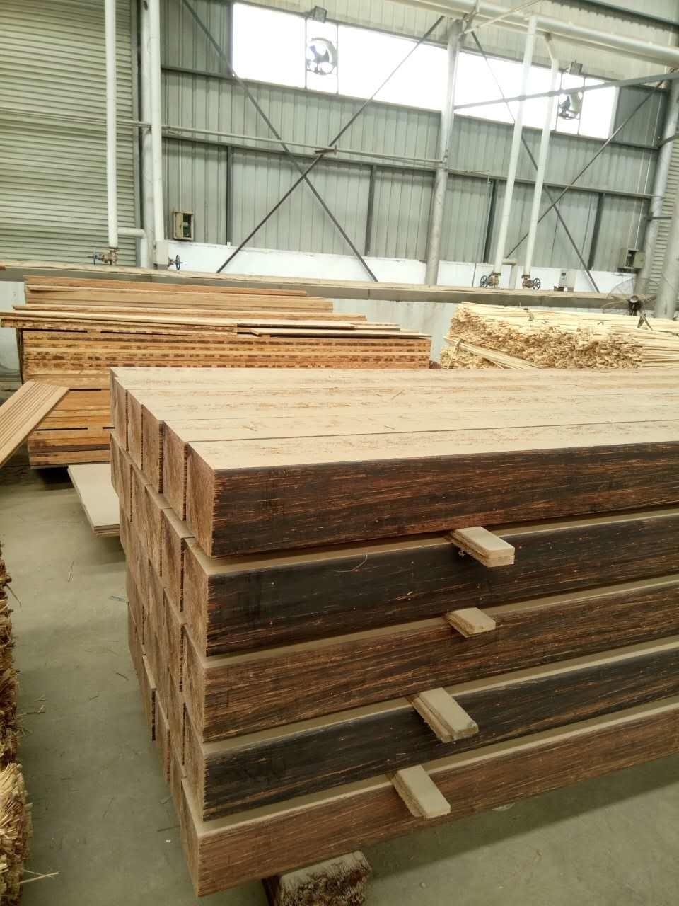Durable Strand Woven Heavy Bamboo Outdoor Garden Flooring