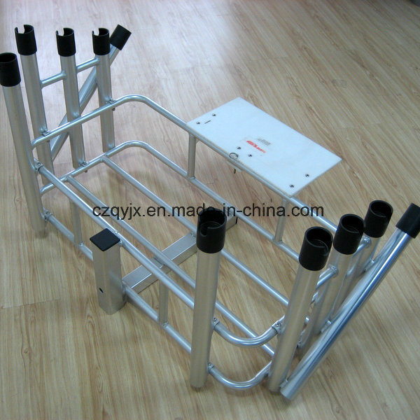 10 Fishing Rods Rack Aluminum Fishing Product