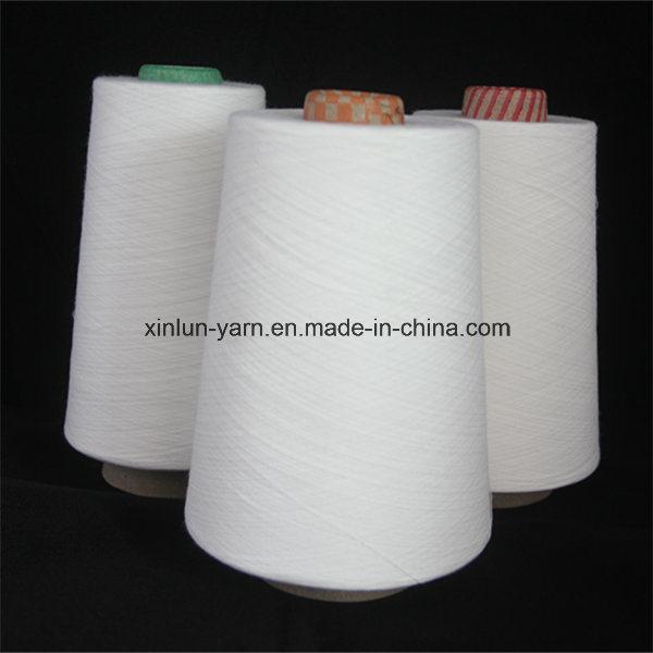 32s Virgin 100% Polyester Spun Knitting Yarn for Fabric