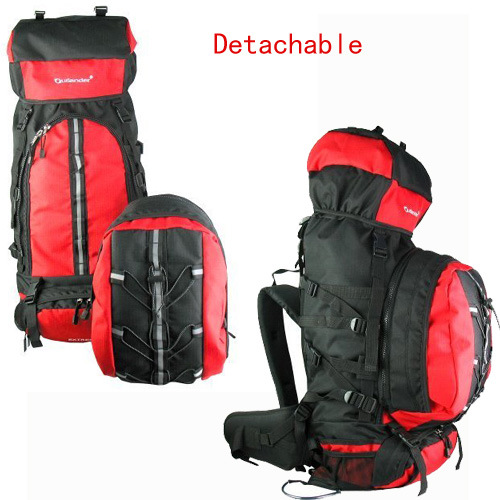 Detachable Mountaineering Hiking Backpack Bags for Outdoor