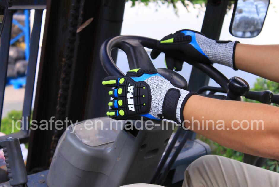 Anti-Vibration Work Glove (TPR9009)