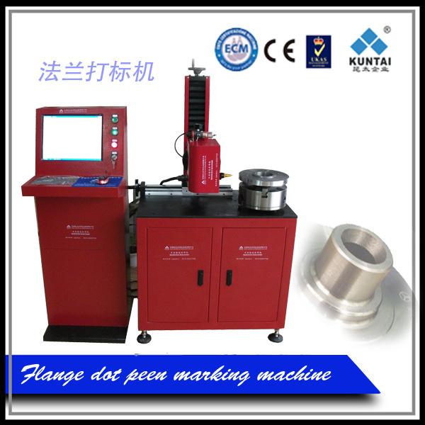 Pneumatic DOT Pin Marking Engraving Machine for Flanges