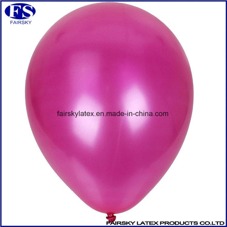 Custom Made Pearl Balloon with Logo