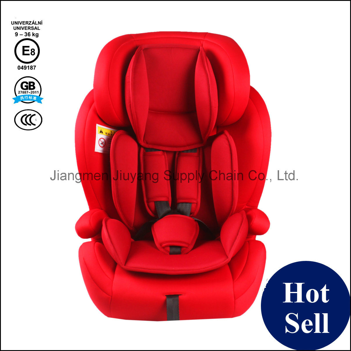 HDPE Frame Baby Safety Car Seat with ECE8 Certification - Free Sample