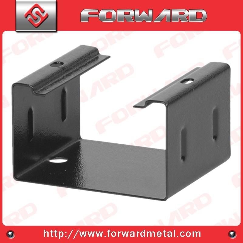 OEM Precision Sheet Stamping Metal Bracket, Metal Shelf Bracket