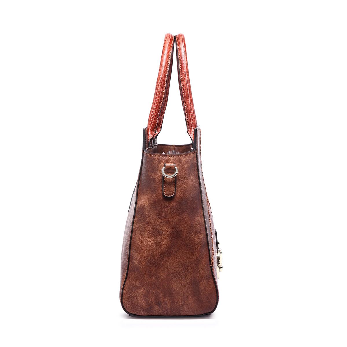PU Lady Designer Fashion Handbag Women Tote Hand Bag
