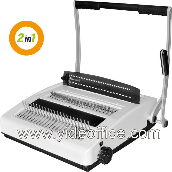 A4 Size Comb and Wire 3: 1 2-in-1 Binding Machine (CW2918)