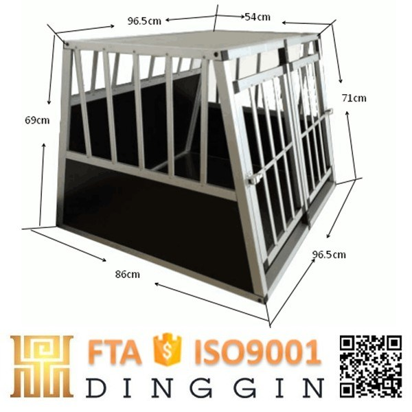 Aluminium Dog Kennel for Car