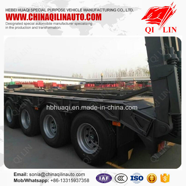 4 Axle Low Loader Semi Trailer