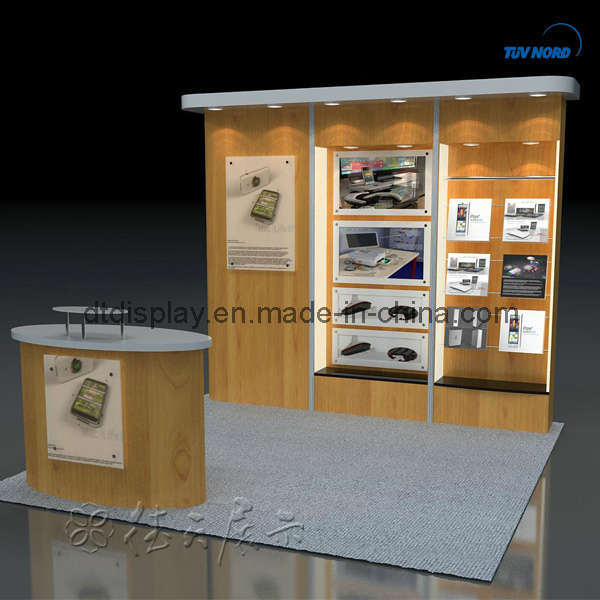 Portable Exhibition Booth Design : Wooden portable exhibition booth stand design ab