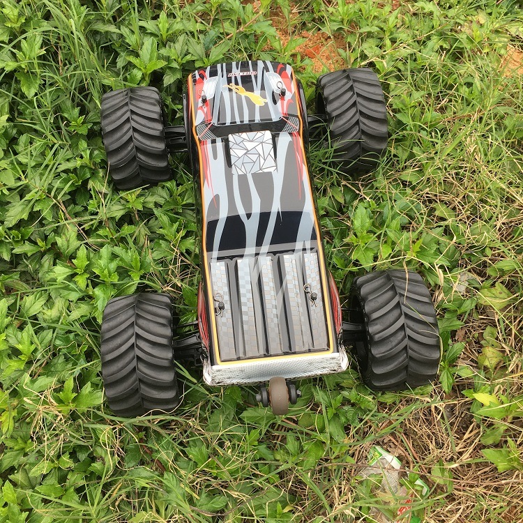 4WD Brushless Electric Power Metal Chassis RC Car Model 3670-2500kv