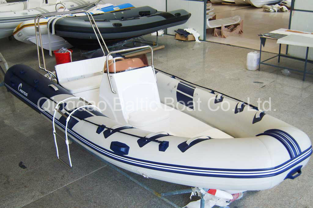 Ce Fishing Sports Fiberglass Rib Yacht Boat 470 for Sale in China