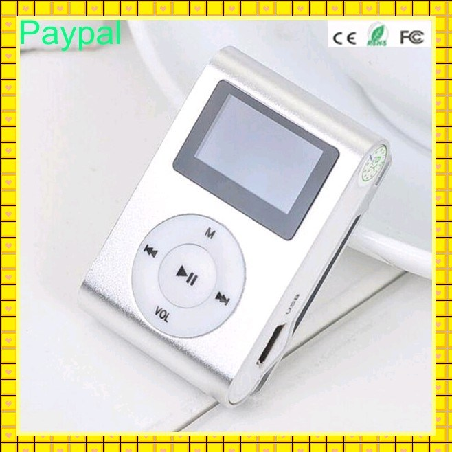 Colorful Mini Clip Music MP3 MP4 Player (gc-m006)