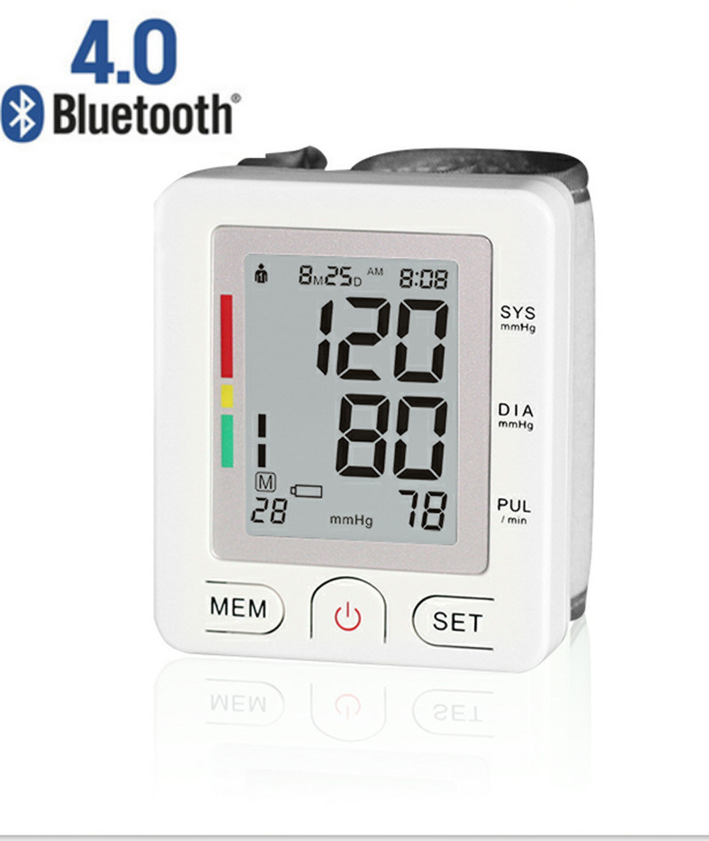 Bluetooth Digital Automatic Blood Pressure Monitor