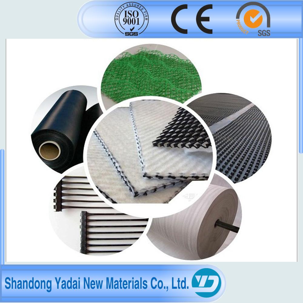 Black Plastic Sheeting Fish Farm Pond Liner PVC Geomembrane for Pool