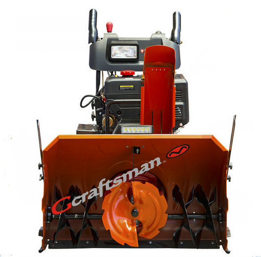 """420cc 34"""" Working Width High Quality 3 Stage Snow Blower with LED Light Bar"""