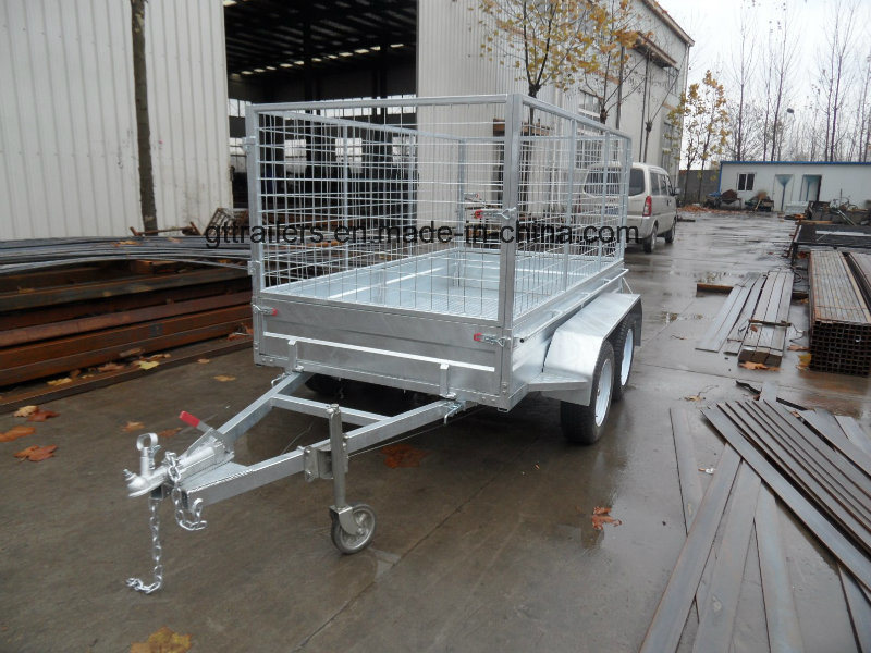Galvanized Tendem Axle Box Trailer (TR0302)