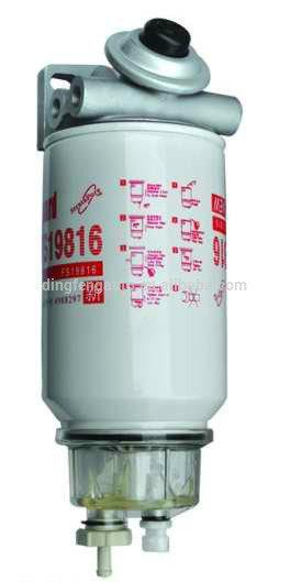 Fleetguard Fs19816 Fuel/Water Separator Filter Assembly for Truck/Cummins Engine