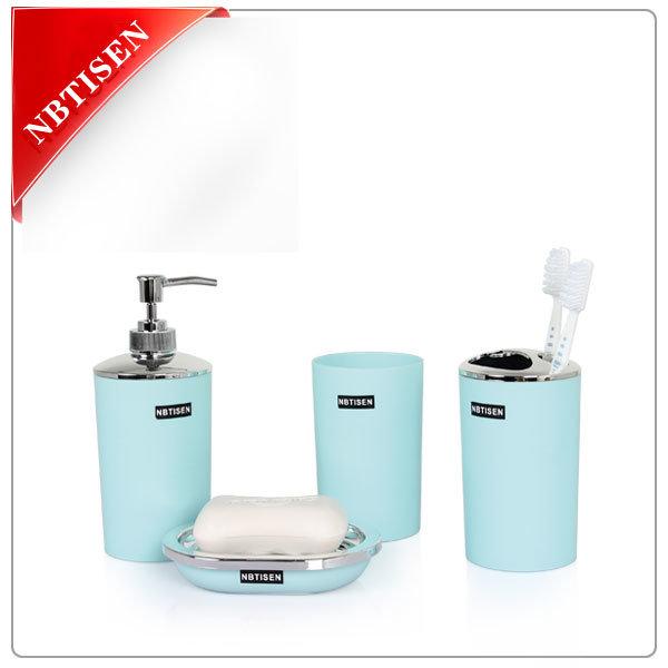 New Rubbler Coating Acrylic/Plastic Bathroom Set Nbtisen Ts-8025